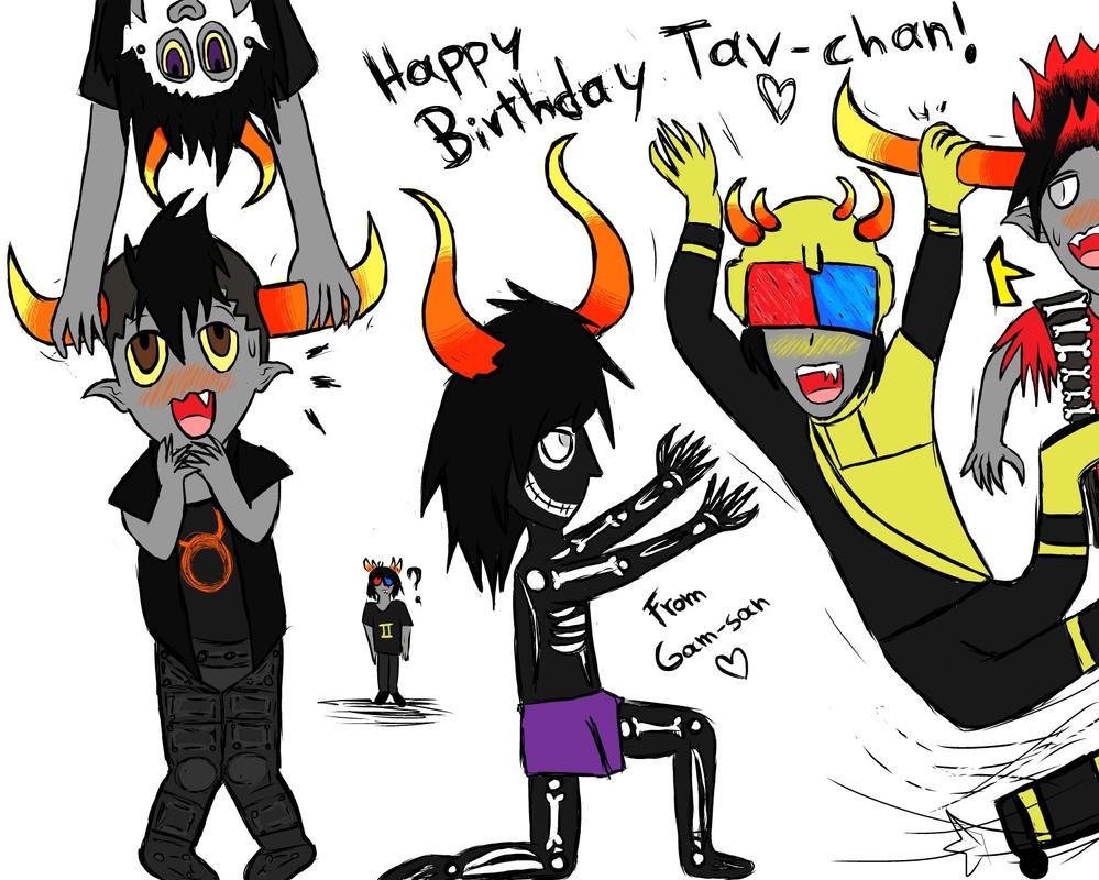 Happy birthday Tav-chan! :3 by BibiVampire