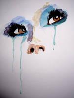 Eyes aquarelle by VattanGeoffrey