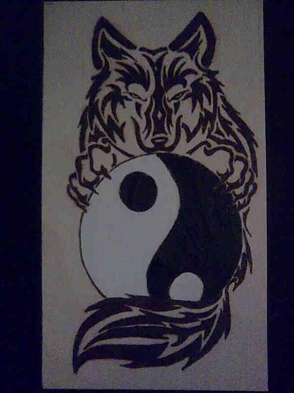 600px - Tatouage ying yang ...