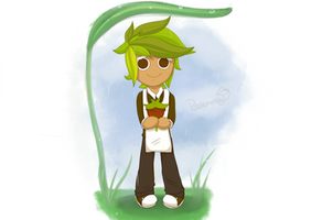 Cookie Run - Herb Cookie by Puzzlemebby