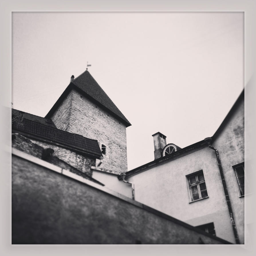 Old Tallinn's Roofs by Kotjara