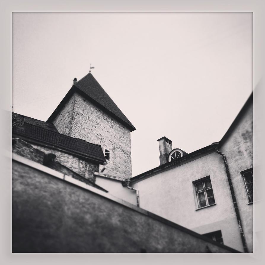 Old Tallinn's Roofs by Kotjara