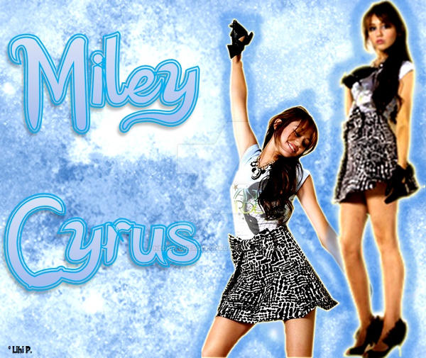Miley Cyrus by NeonFlowerDesigns