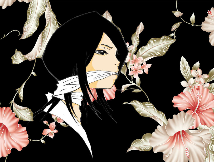 Bleach *^* Rukia_Flowers_by_Hinode_Toma