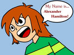 Hamilton! song with Chibi by KayNerd550