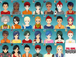 Total Drama Cartoon Network Avatares (Updated) by JohnnyRBFC