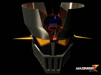 mazinger head by validangel