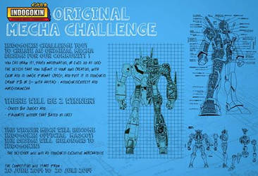 original mecha challenge by validangel