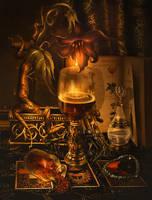 Mandrake potion for Valentine's day by Incantata
