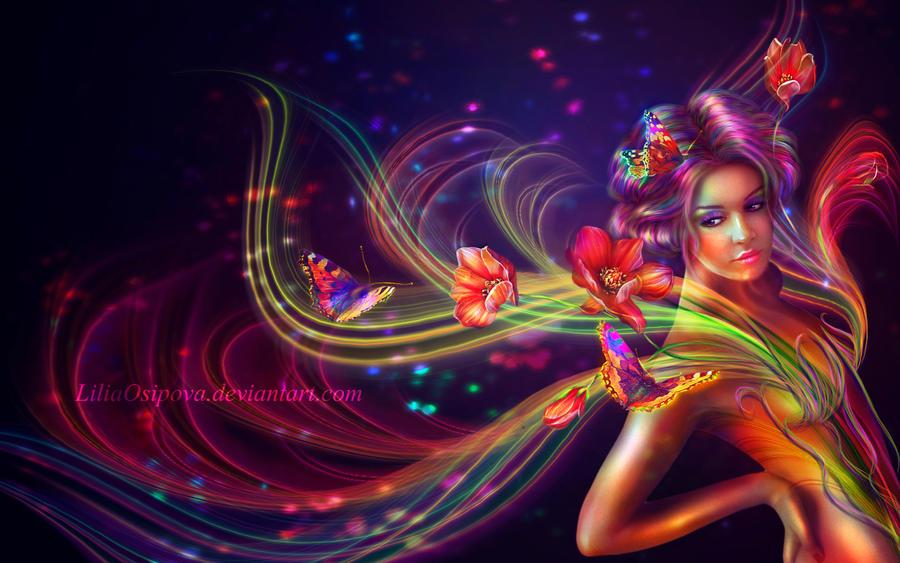 Blossom by LiliaOsipova