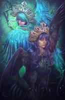 Sirin and Alkonost by Incantata