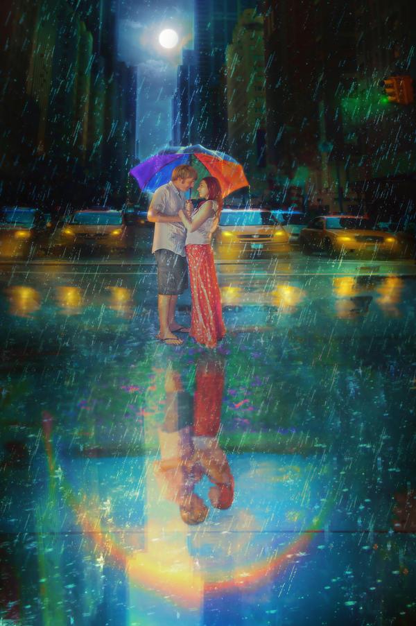 Bajo la lluvia Love_by_liliaosipova-d6qfdws
