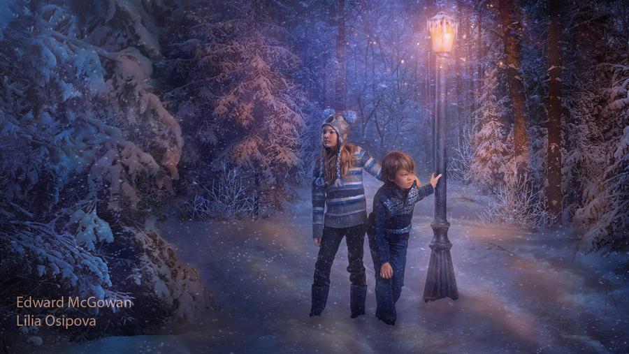 Narnia visitors by LiliaOsipova
