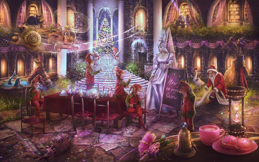 La scuola magica della Maestra Cornacchia by LiliaOsipova