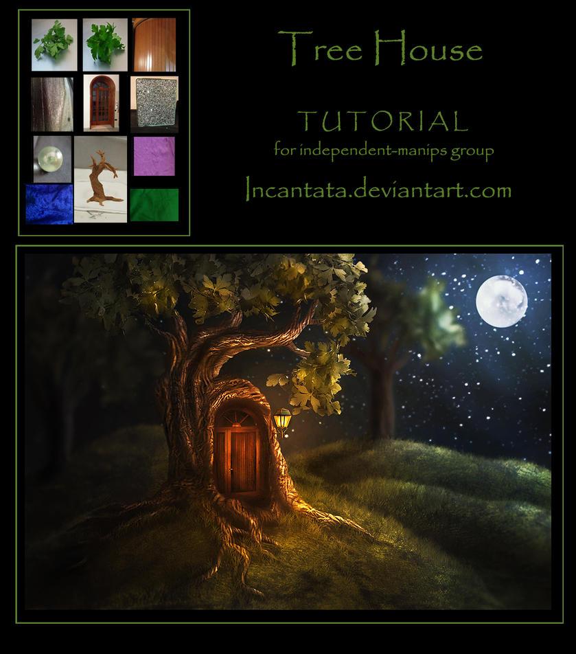 Tree House tutorial by Incantata