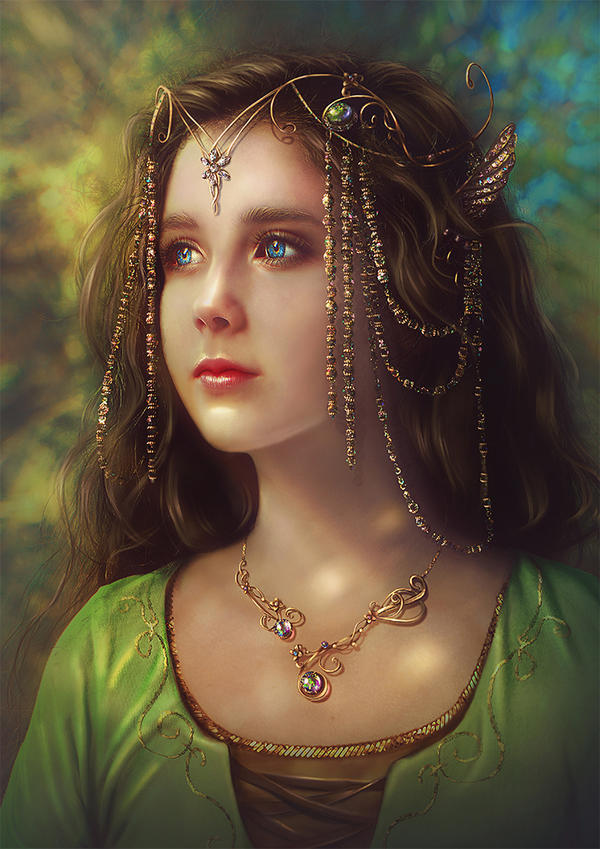 Young Arwen by Incantata