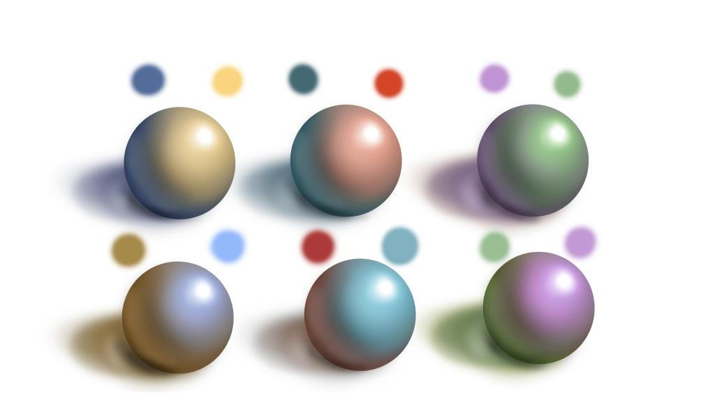 color schemes by Incantata