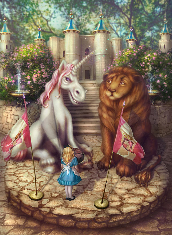 The Lion and The Unicorn by Incantata