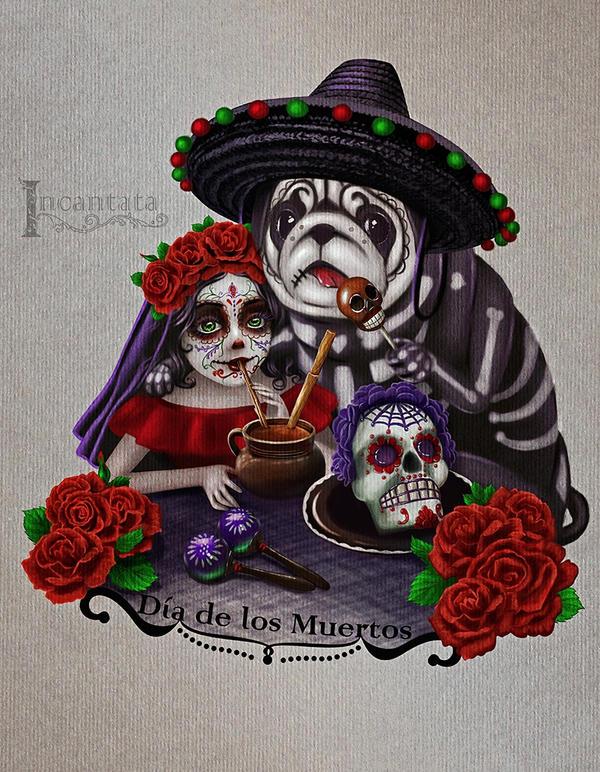 Dia de los Muertos by Incantata