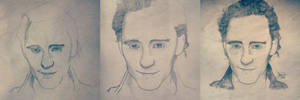 Progress Pic - Tom Hiddleston (The Hollow Crown)