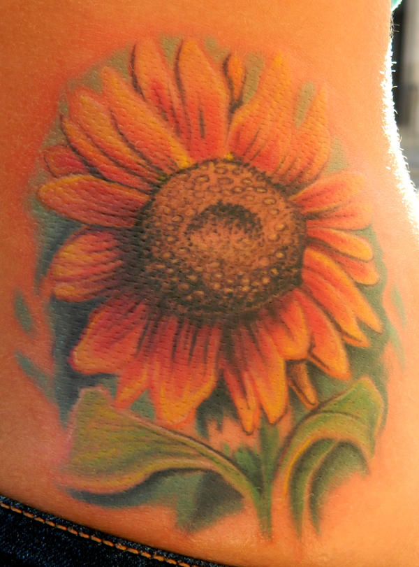 Felicia's Sunflower by Sirius-Tattoo
