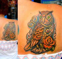 Elizabeth's Owl I Named Derrick by Sirius-Tattoo