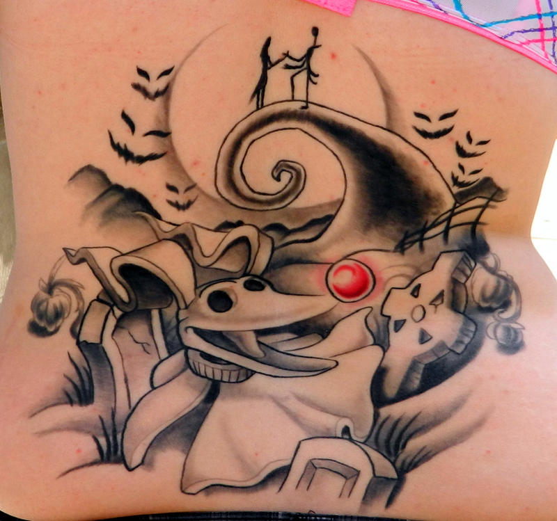 Zero Nightmare Before Christmas Tattoo Nightmare Before Christmas