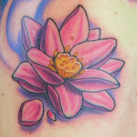 Pink Lotus Flower By Sirius Tattoo On Deviantart