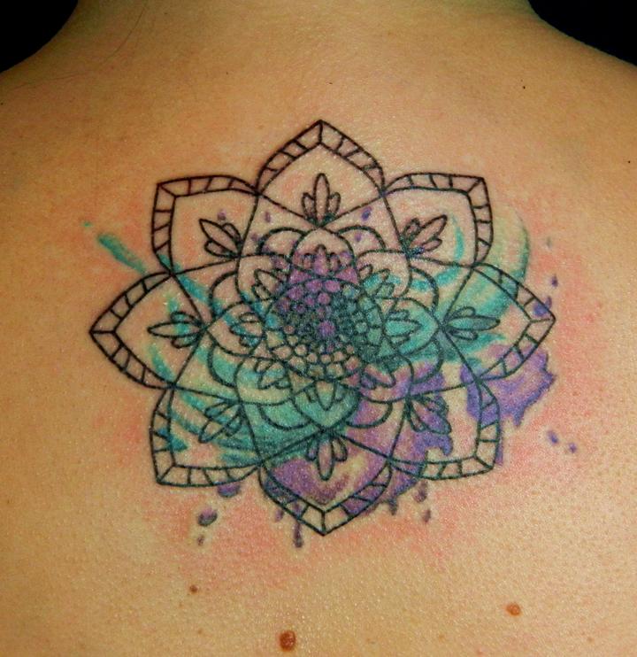 Lotus Flower Tattoo Designs Ankle