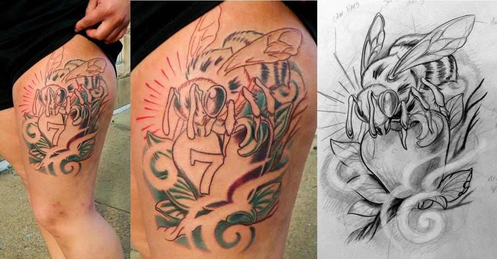 Tattoo Bee Designs