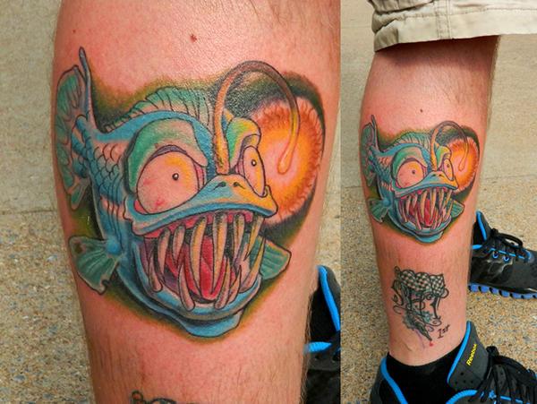 Reel big fish logo tattoo