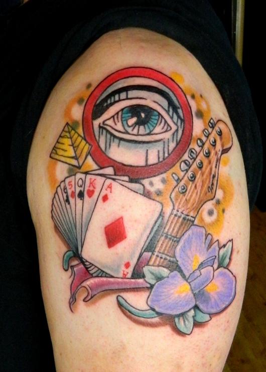 eddies magic music tattoo by sirius tattoo on deviantart