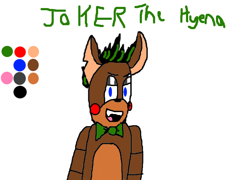 Joker the Hyena by EpicGamer4life