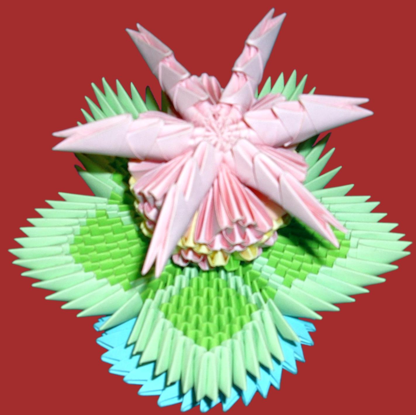 Origami Flower By Floorin333 On Deviantart