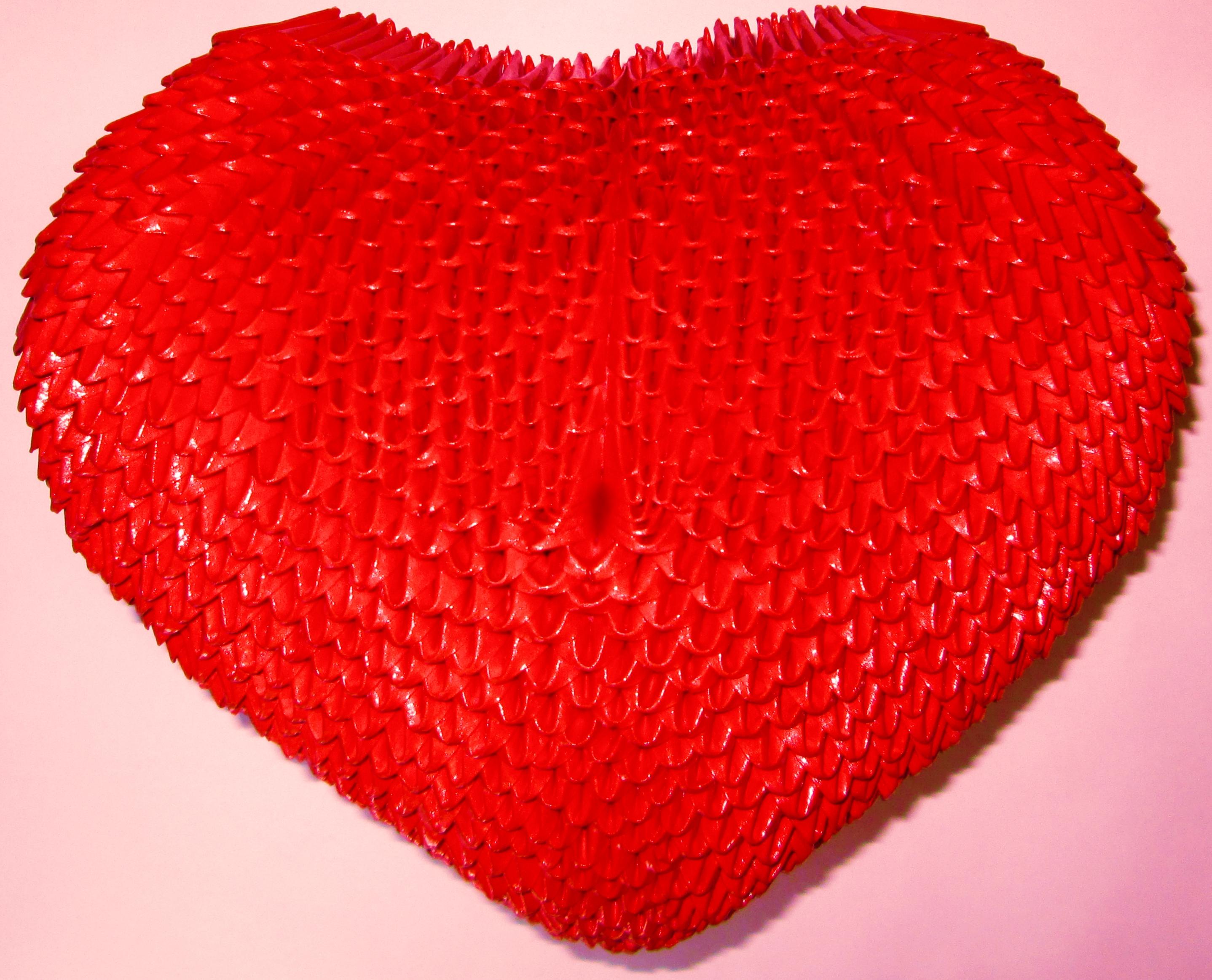 3d origami heart vase wwwimgkidcom the image kid has it