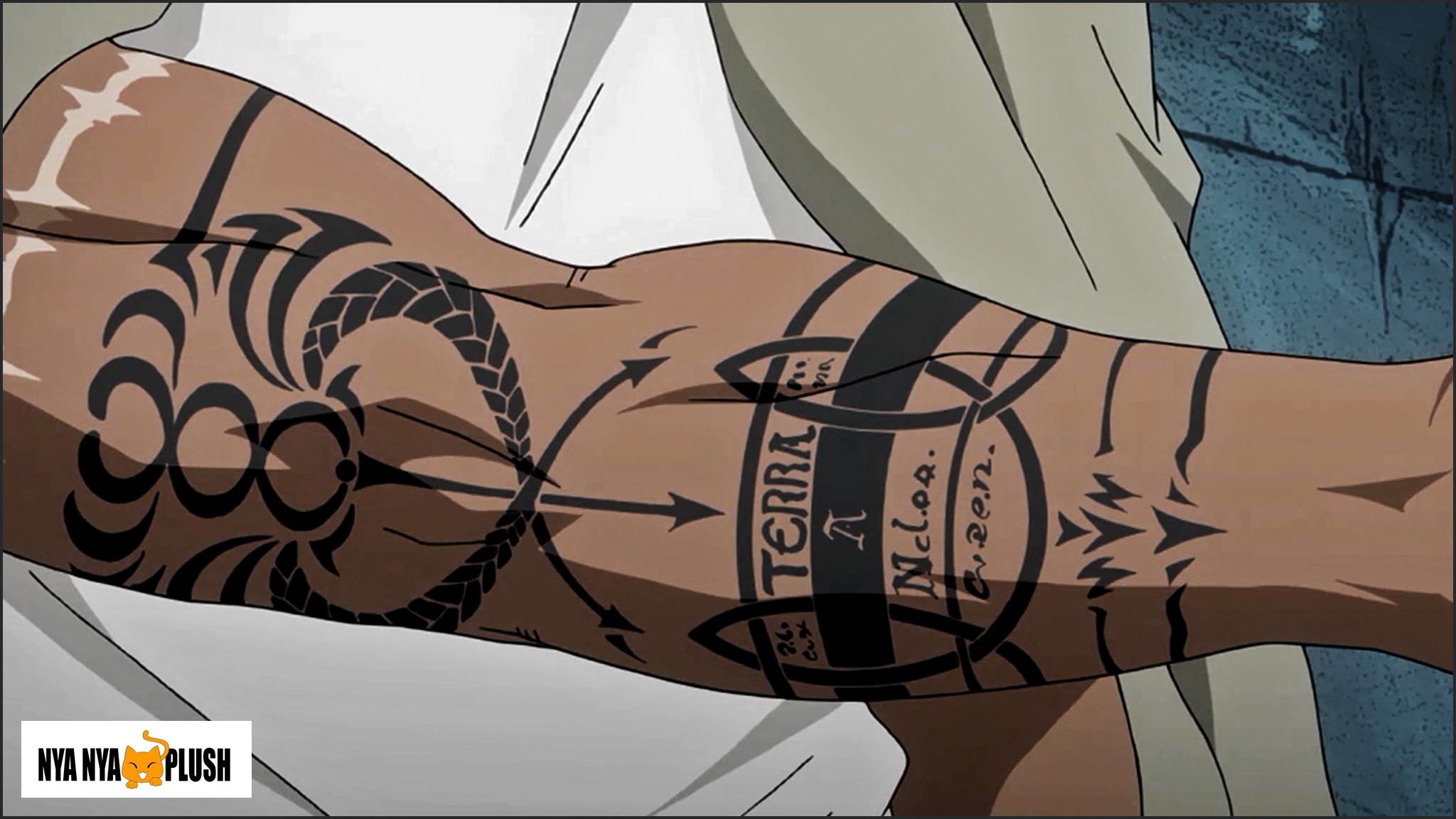 Fullmetal Alchemist Brotherhood - Scar's Right Arm by Nya-Nya-Plush on DeviantArt