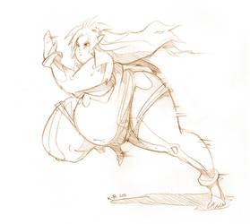 Cheetara Sketch by BedBendersInc
