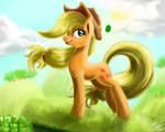 Applejack In Wind