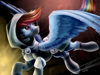 Rainbow Rogue Dash by YummiestSeven65