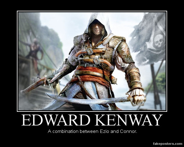 Edward Kenway. by JohnnyTlad