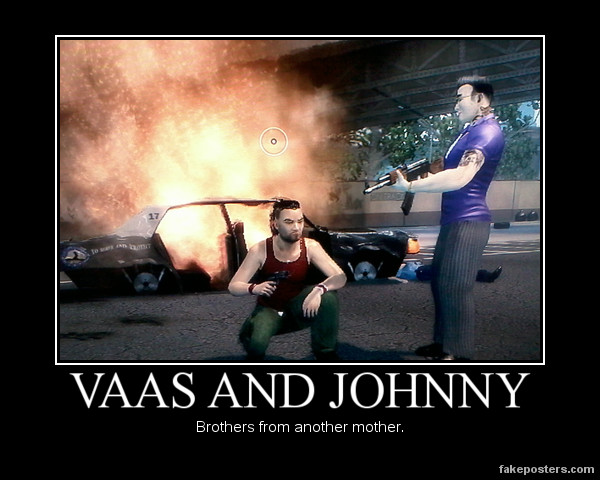 Vaas and Johnny by JohnnyTlad on DeviantArt