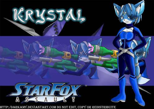 Star Fox Assault Krystal
