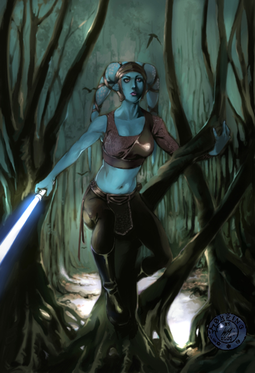 Aayla Secura by mude