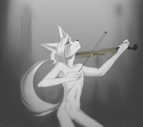 Magic violin by Wunderknodel