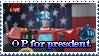 Optimus Prime for president XD by DJMoonRay