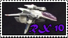 R-Type Delta - RX-10 Albatross stamp by DJMoonRay