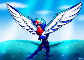 So much blue water by MoonRayCZ