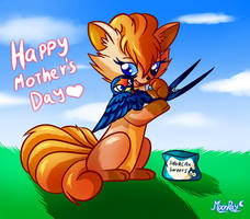 Happy mother's day by MoonRayCZ