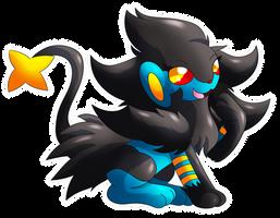 SN: Cute little lion by MoonRayCZ