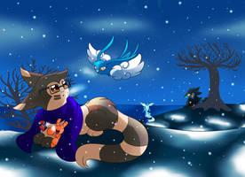 SN: Winter time by MoonRayCZ